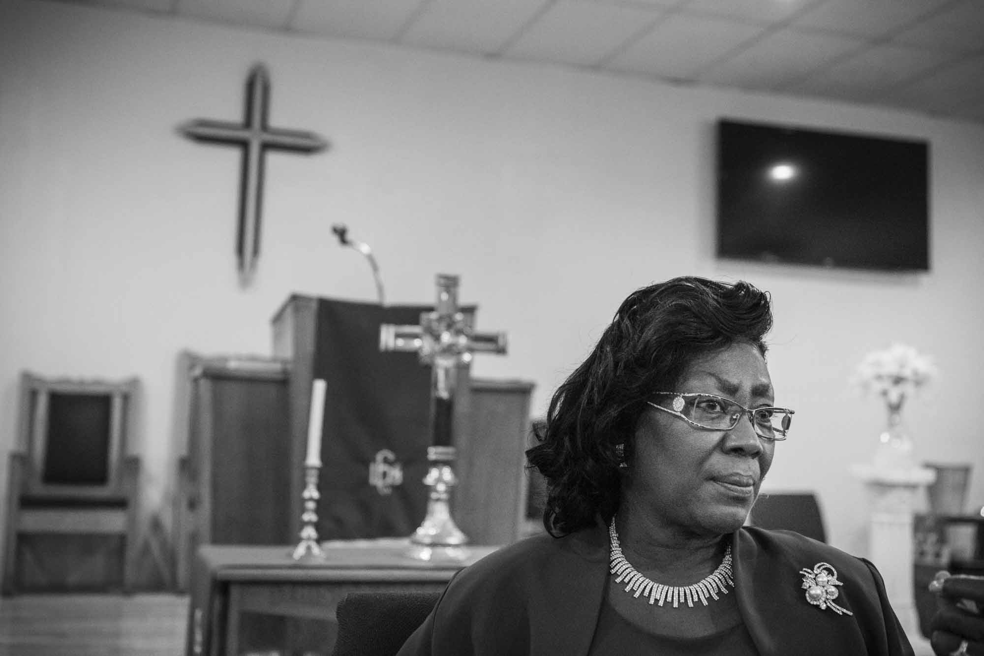 Church Life  Philadelphia Creative Portrait Black and White Photographer: Zave Smith