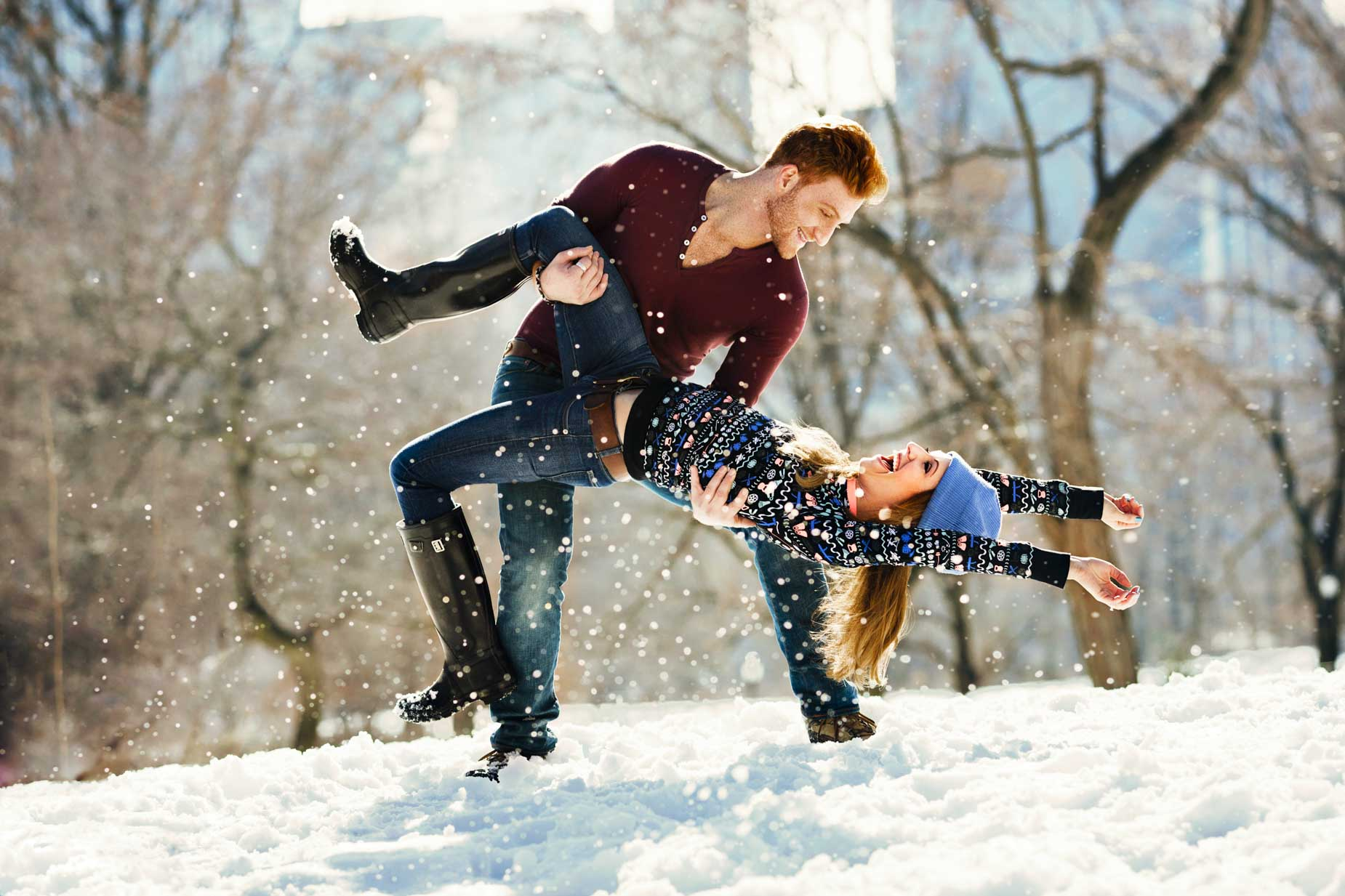 Winter Love:  1-Commercial Lifestyle Photography Philadelphia