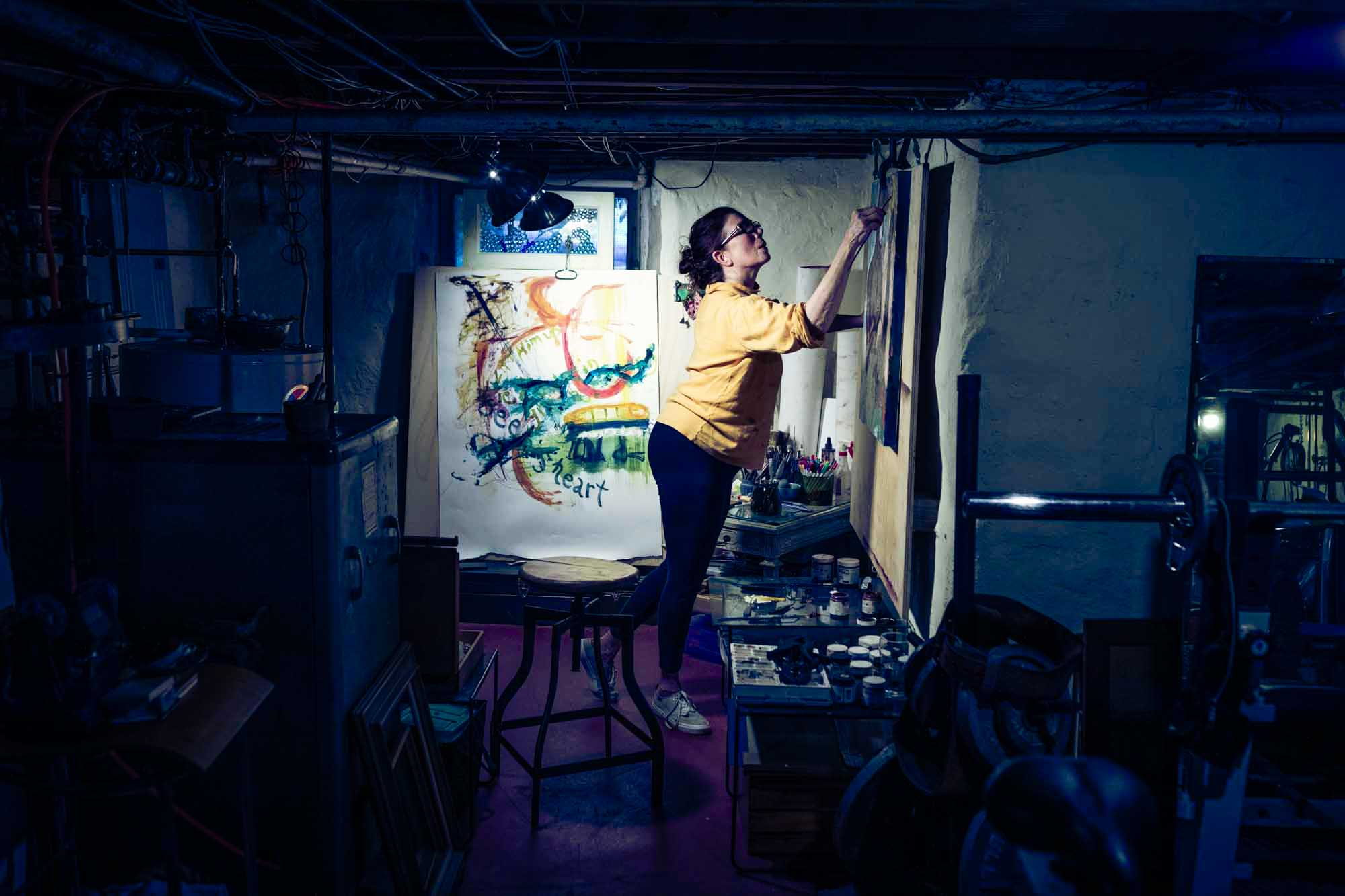 Artist Portraits: Philadelphia Creative Portrait Photographer: Zave Smith