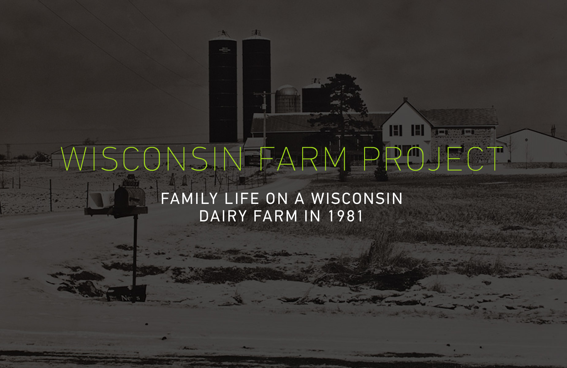 Wisconsin Farm Project